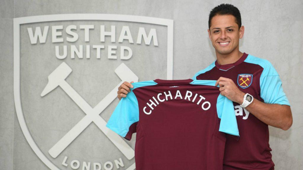 El West Ham United se une a la iniciativa de Chicharito Hernández y subastará todas las playeras del equipo para damnificados del terremoto