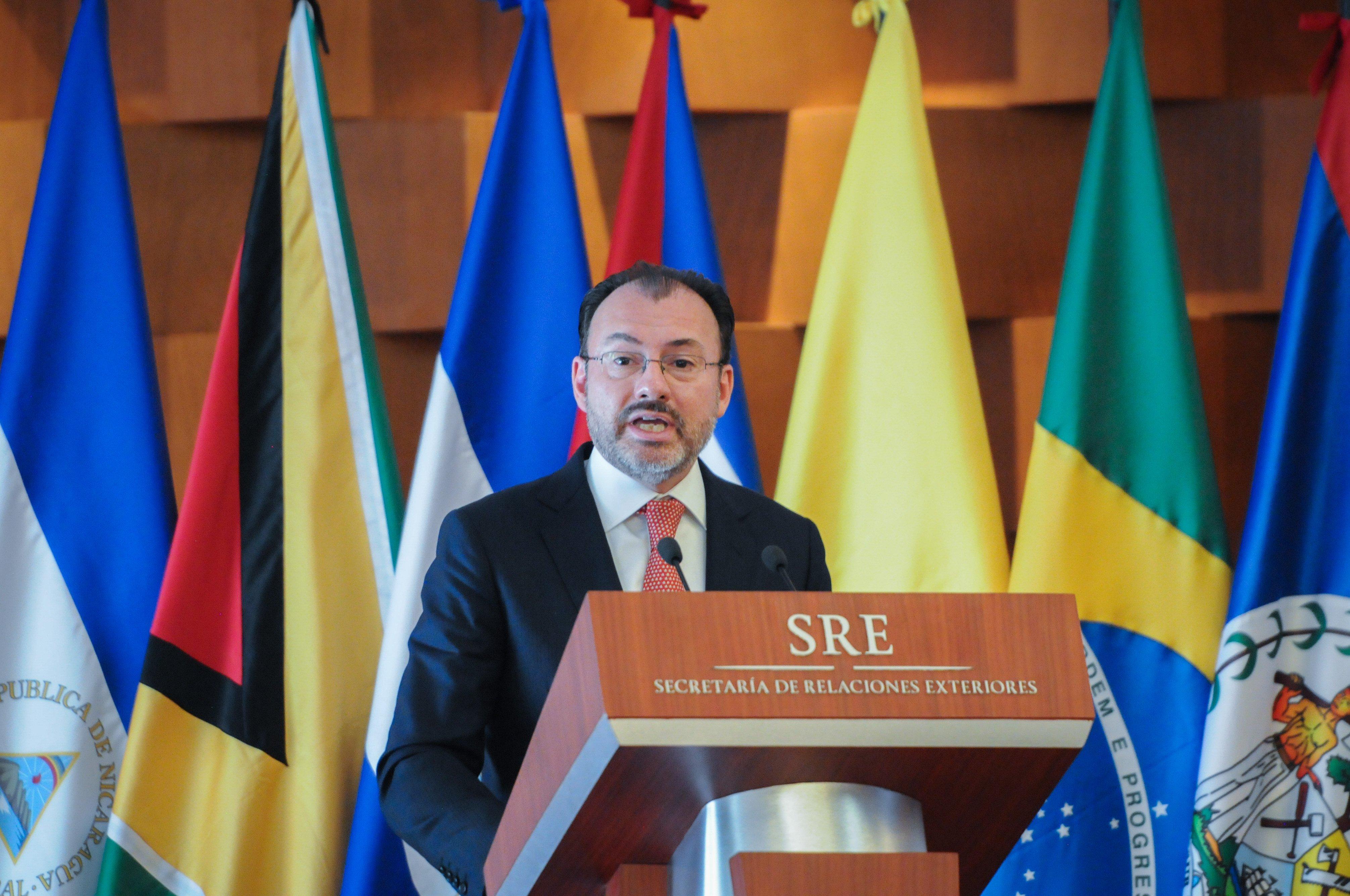 Luis Videgaray. @Cuartoscuro.com