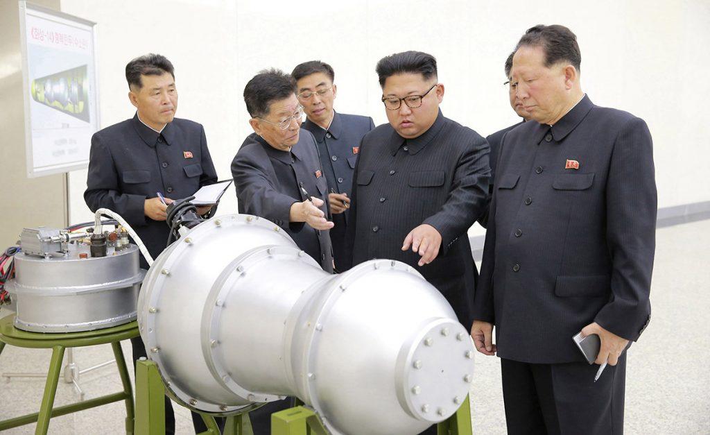 Corea del Norte asegura haber desarrollado un arma nuclear más avanzada y con gran poder destructivo; será instalada en un misil intercontinental.