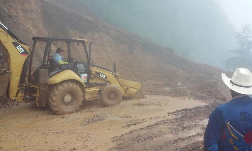 Cinco comunidades de Hidalgo afectadas por las lluvias