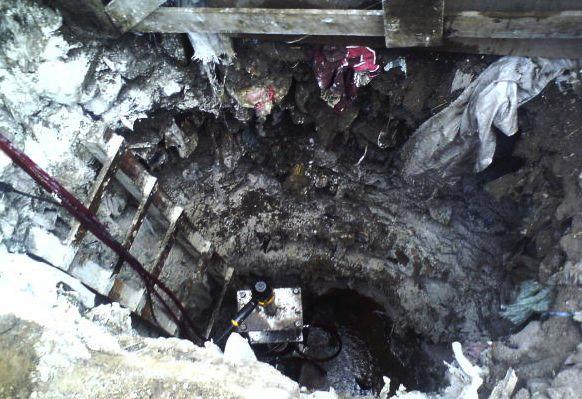 Presunta toma clandestina de combustible en el Estado de México. FOTO: CUARTOSCURO