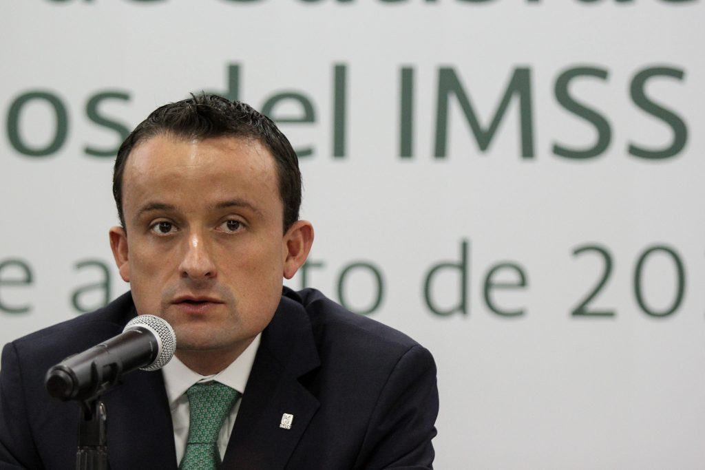 Mike Arriola, director general del IMSS. ARCHIVO. CUARTOSCURO.