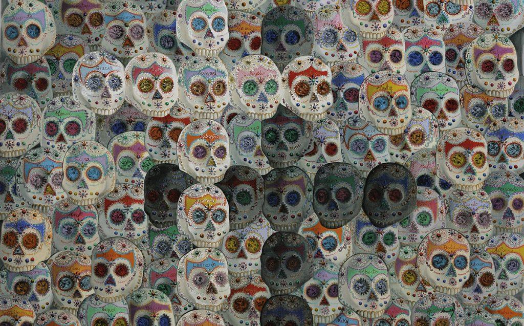 """El Museo Nacional de Arte Mexicano de Chicago inaugura la exposición """"Día de Muertos: Tilica y Flaca es la Calaca"""", para conmemorar la tradicional fecha."""