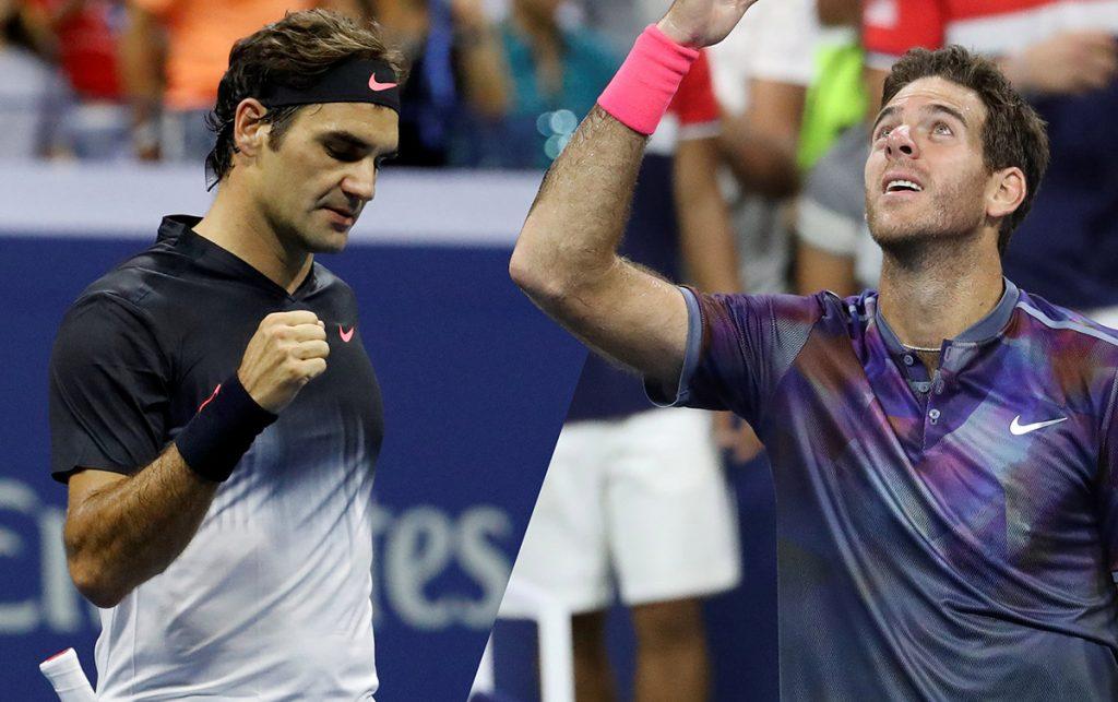 Este miércoles, Roger Federer y Juan Martín del Potro rememorarán la final del 2009 cuando definan a un semifinalista del Abierto de Estados Unidos.