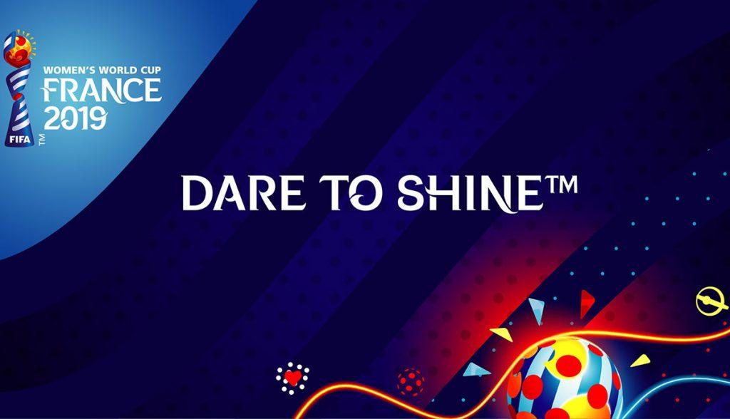 La Federación Internacional de Fútbol presentó oficialmente el emblema y lema de la Copa Mundial Femenina de Francia 2019.