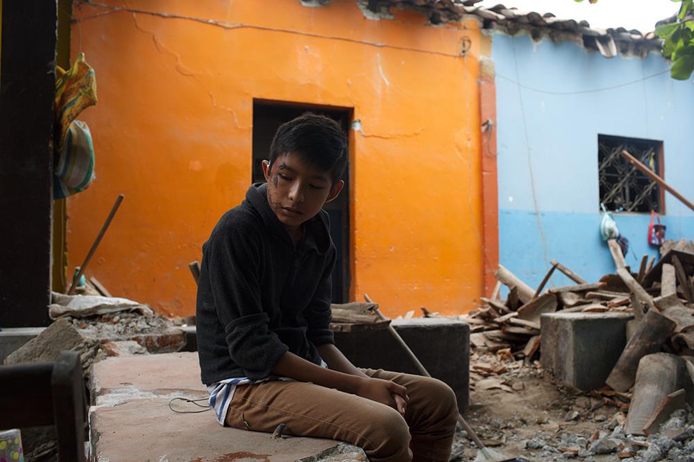 Josué, el milagro de Juchitán, tras el sismo