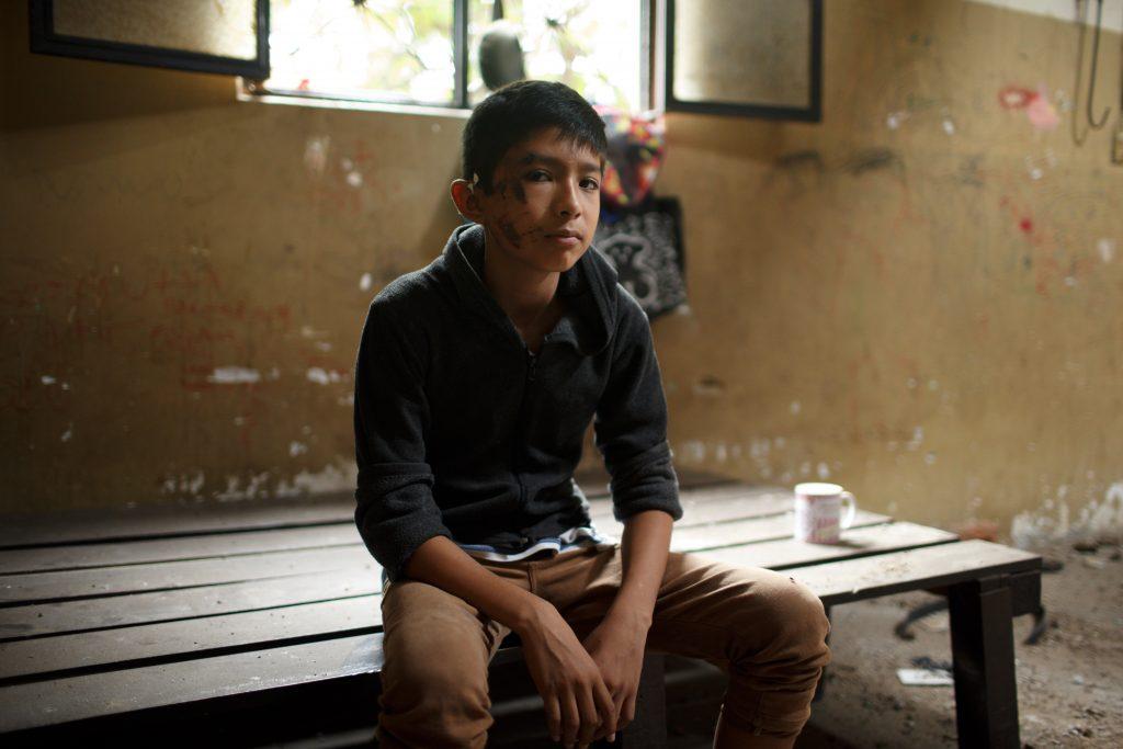 Josué, el milagro de Juchitán, tras el sismo de la semana pasada