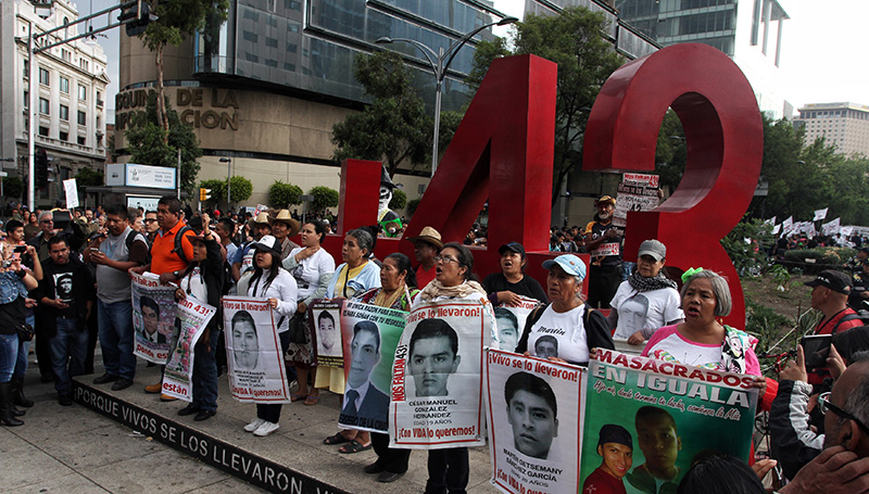 Ayotzinapa. Reconstruyen digitalmente el caso de los 43 normalistas