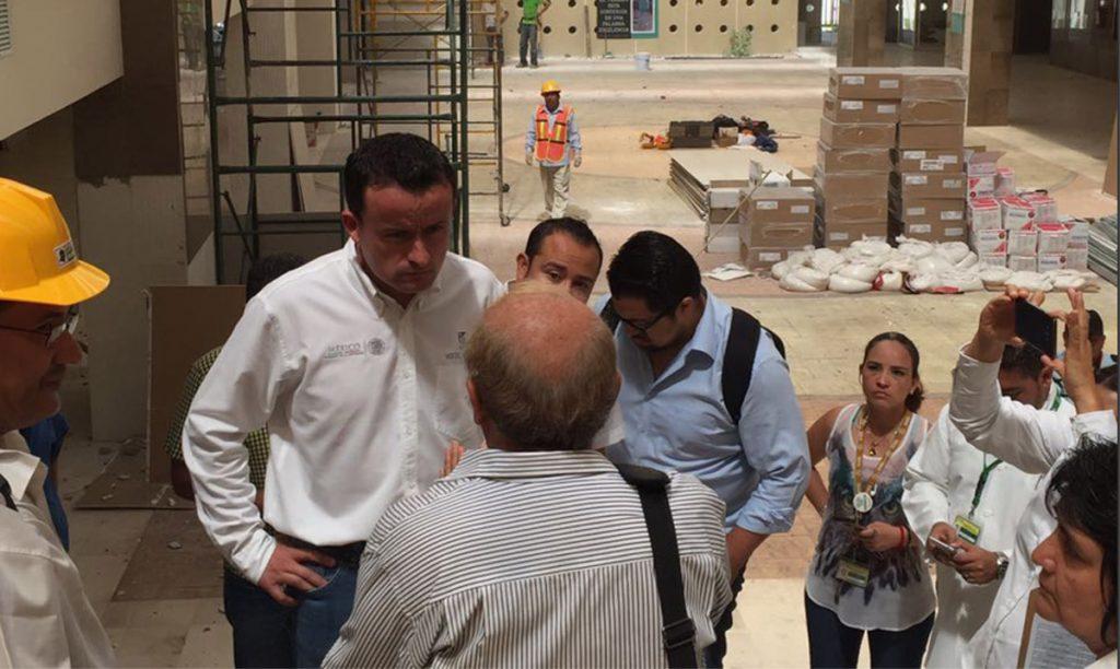 El Instituto Mexicano del Seguro Social comenzó la reparación de las unidades médicas afectadas por el terremoto en Tuxtla Gutiérrez
