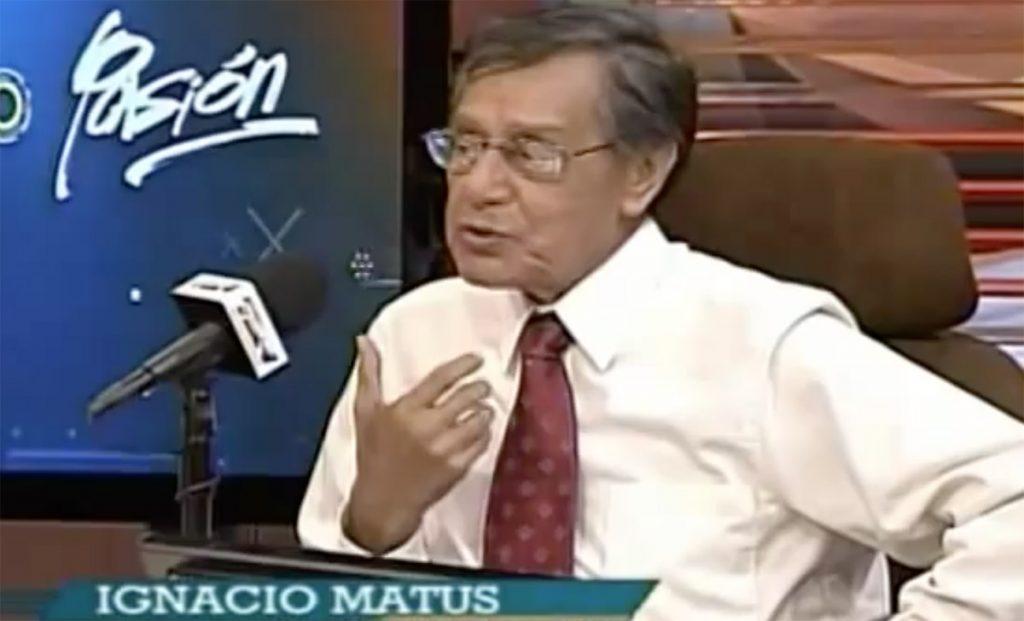 El experimentado periodista deportivo Ignacio Matus Jiménez falleció a los 85 años a causa de una enfermedad cerebrovascular