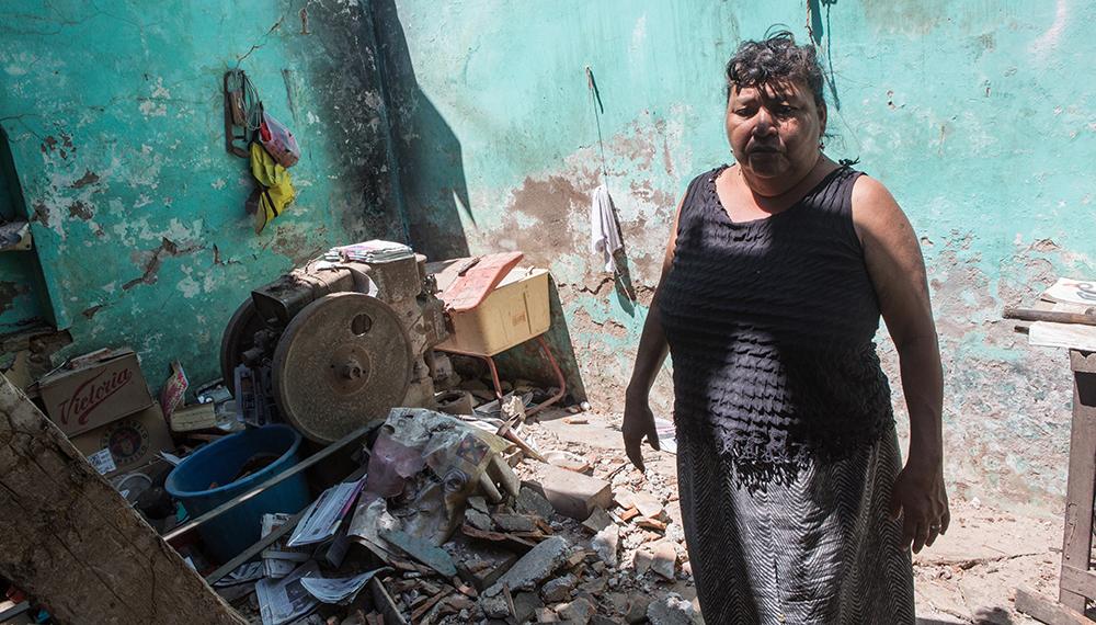 Más de mil casas serán demolidas por daños del sismo