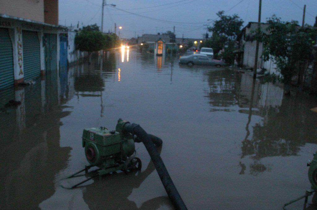 Ixtapaluca es unod e los municipios del Edomex afectados por las inundaciones. FOTO: SAÚL LÓPEZ/ CUARTOSCURO