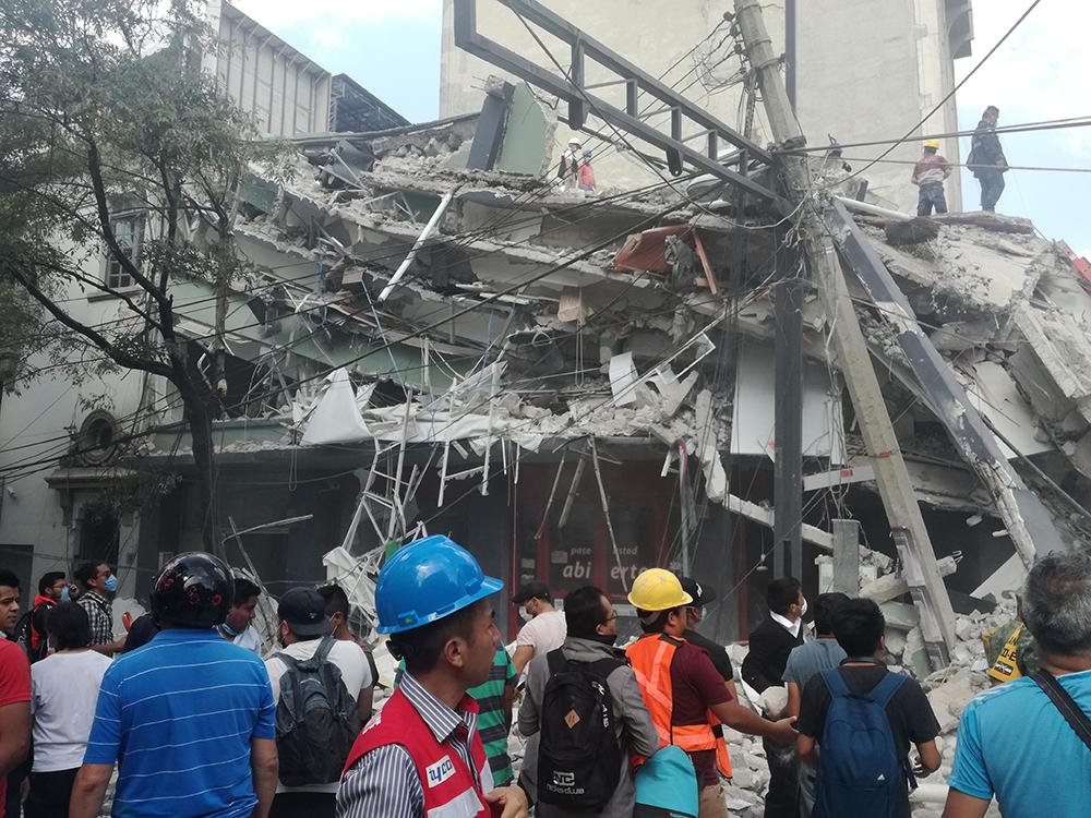FOTOS: La destrucción que dejó el sismo