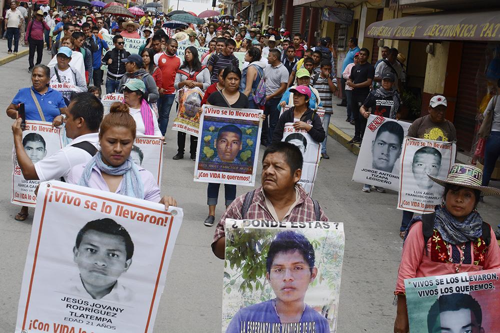 Ayotzinapa, tres años de lucha por alcanzar la verdad