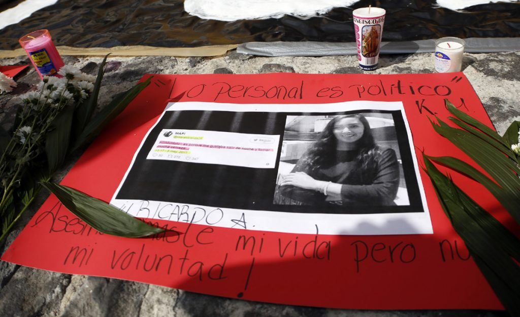 Tras el asesinato de Mara Fernanda Castilla, Amnistía Internacional denunció que México es un estado machista que desprecia la vida de las mujeres.