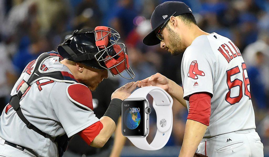 Medias Rojas de Boston habrían usado un Apple watch para robarle las señales a los Yankees, en la serie del mes pasado en Fenway Park.