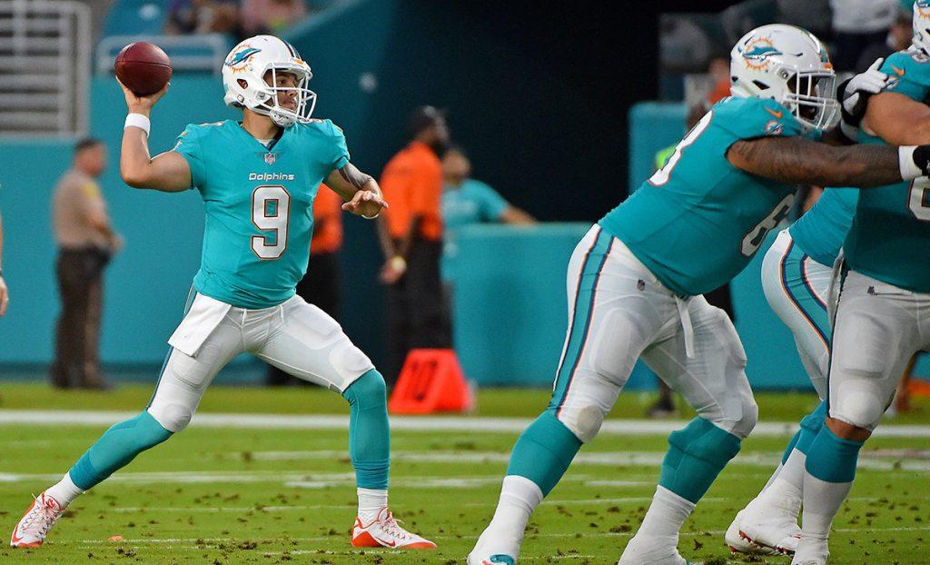 El partido de la Semana 1 entre los Dolphins y los Buccaneers de Tampa Bay que se jugaría en Miami este domingo fue aplazado por el paso del Huracán Irma.