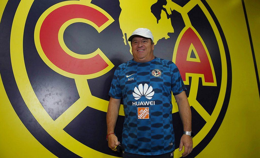 Miguel Piojo Herrera, técnico del América, reconoce la importancia de hacer pesar la localía en el Azteca; este sábado recibe a Veracruz.