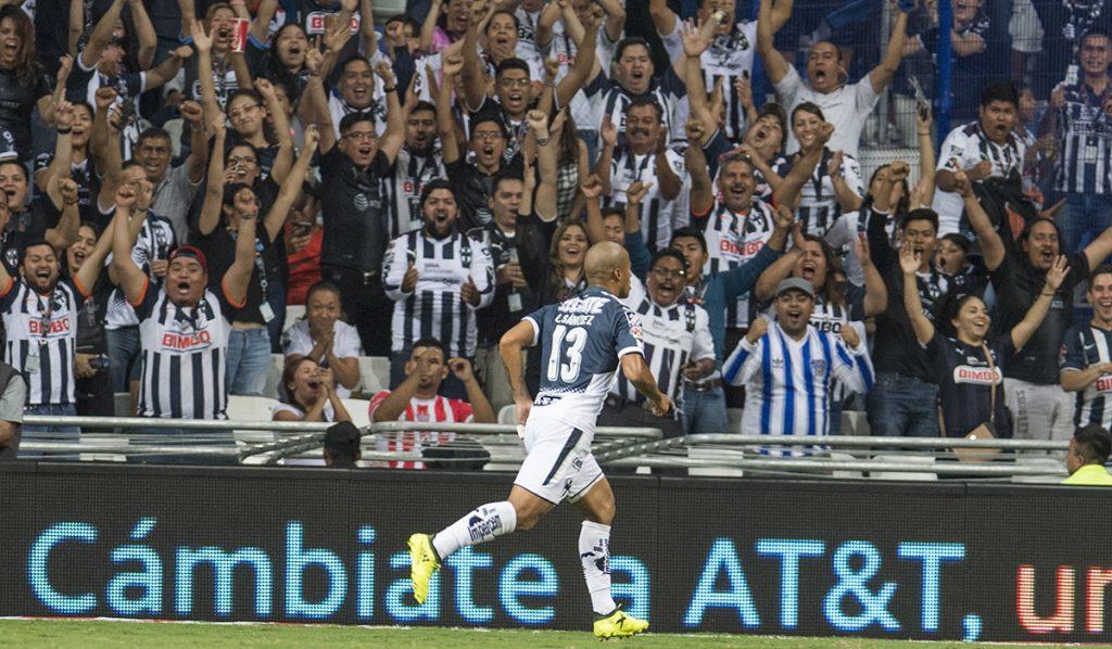 Con gol del uruguayo Carlos Sánchez, Rayados del Monterrey vence 1-0 a los Rayos del Necaxa y se afianza como súper líder.