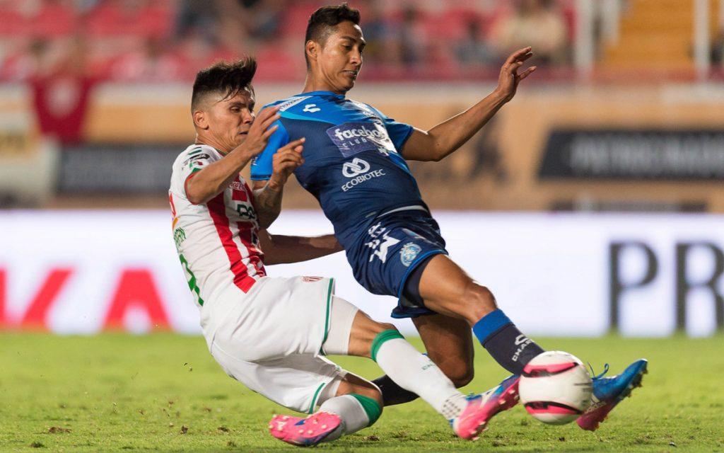 Los Rayos del Necaxa rescataron un apurado empate 1-1 con el Puebla; de poco sirve la igualada a ambas escuadras