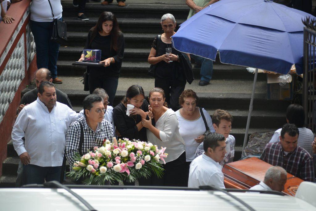 Mara Castilla fue privada de su libertad en la ciudad de Puebla el pasado 8 de septiembre, sus restos aparecieron el 15 de septiembre en una Barranca. @Cuartoscuro.com