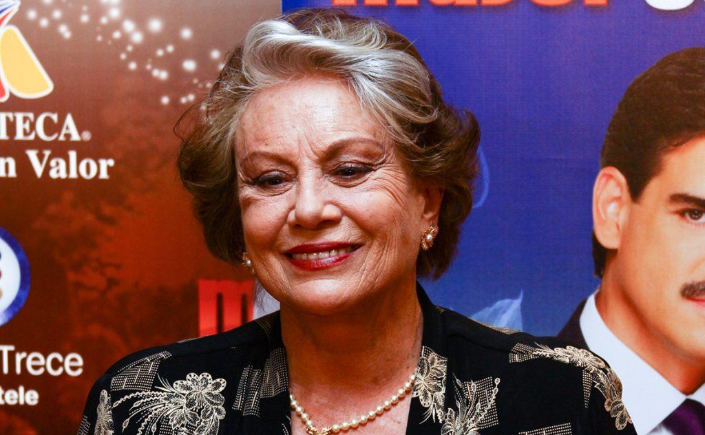 La primera actriz Saby Kamalich falleció la mañana de este miércoles a los 78 años. Tuvo reconocimiento internacional por la telenovela Simplemente María.