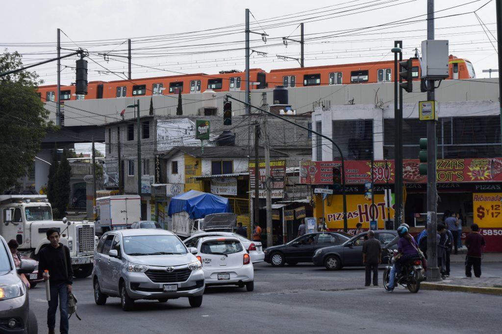 Sismo vivido en el metro de la Ciudad de México. @Cuartoscuro.com