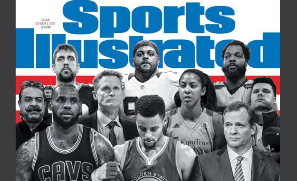 Stephen Curry criticó portada de Sports Illustrated dedicada a la protesta de jugadores durante el himno y no aparece Colin Kaepernick, iniciador de todo.