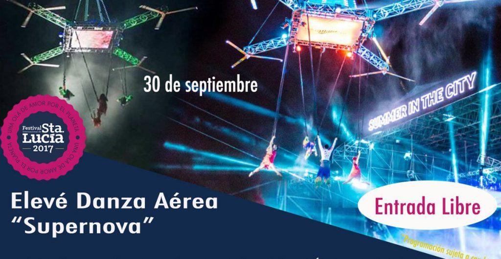 """María de los Ángeles Nieto, acróbata que participaría en el espectáculo """"Supernova"""" cayó de una altura de 7 metros durante los ensayos en la Macroplaza."""