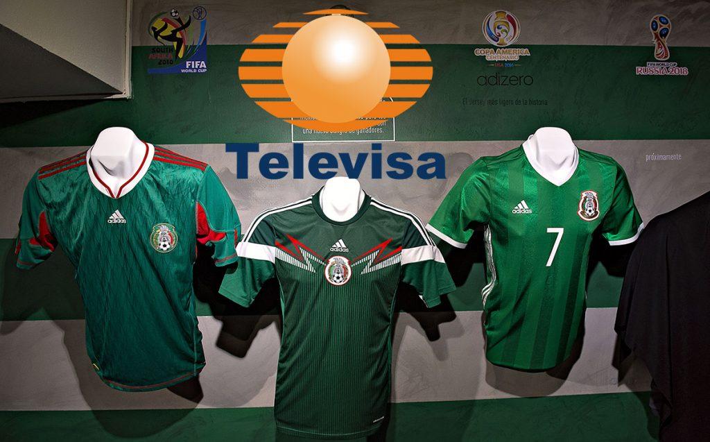 Televisa aprovechó la cláusula de renovación automática de los derechos de televisión de la Selección Mexicana por los próximos ocho años.