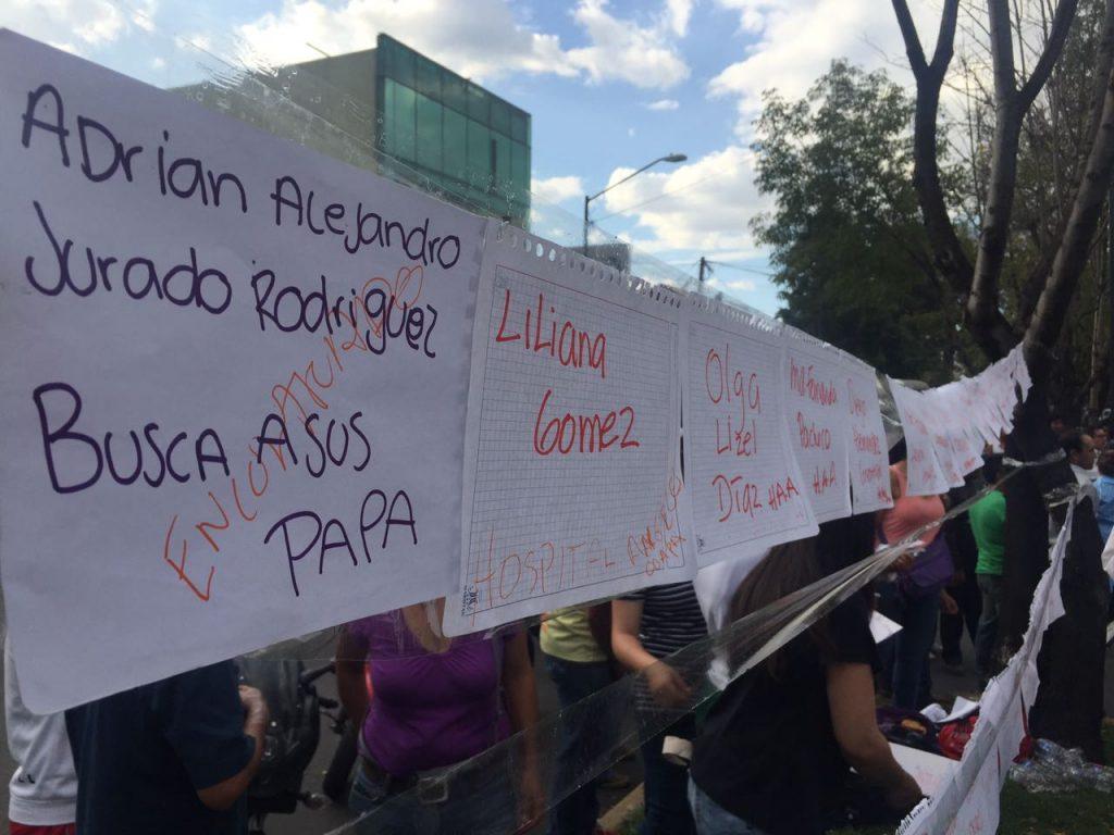 Niños muertos y desaparecidos tras colapso en escuela Enrique Rebsamen