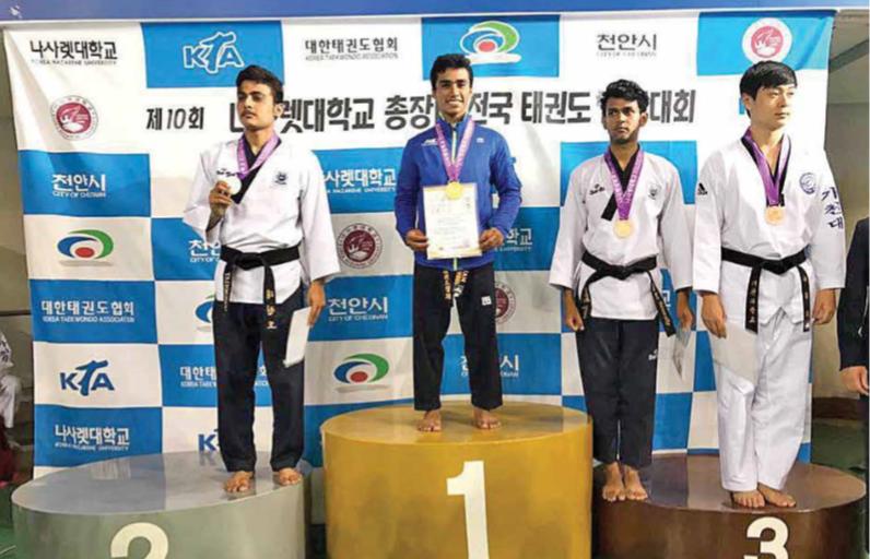 Bryan Herrera, entre el campo y el taekwondo se formó el campeón