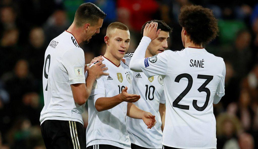 El campeón del mundo venció 3-1 a Irlanda del Norte para asegurar su boleto a Rusia 2018; el campeón prepara la defensa del título mundial.