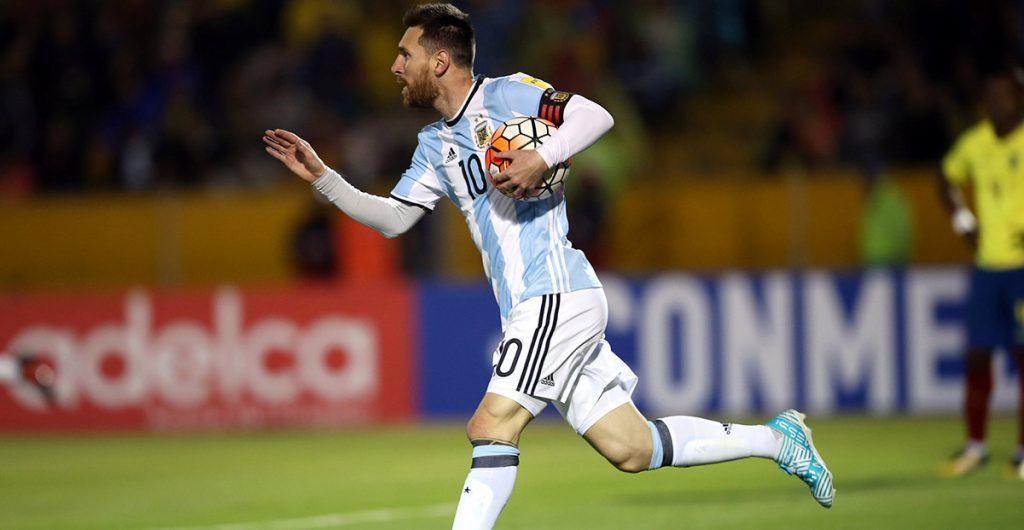 Lionel Messi cargó con Argentina para llevarlo a Rusia; Chile eliminado al caer 2-0 en Brasil; Perú empata 1-1 con Colombia y va a repechaje contra Nueva Zelanda