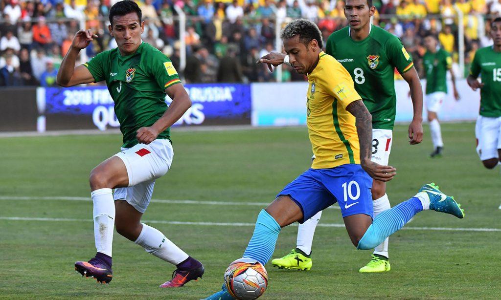 Las selecciones de Bolivia y Brasil igualaron 0-0 a 3,600 metros de altura en la capital boliviana; Brasil fue el primer clasificado al mundial, Bolivia ya eliminado.