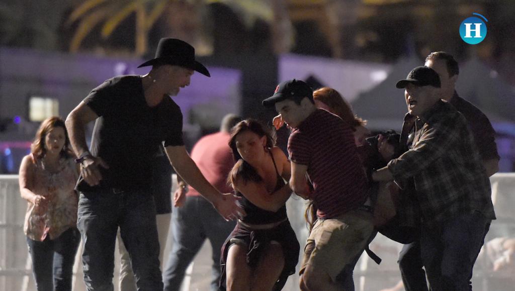 Tiroteo en Las Vegas deja al menos 58 muertos y 550 heridos