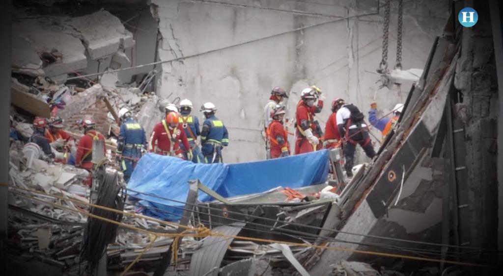 En Álvaro Obregón aún queda un cuerpo por rescatar