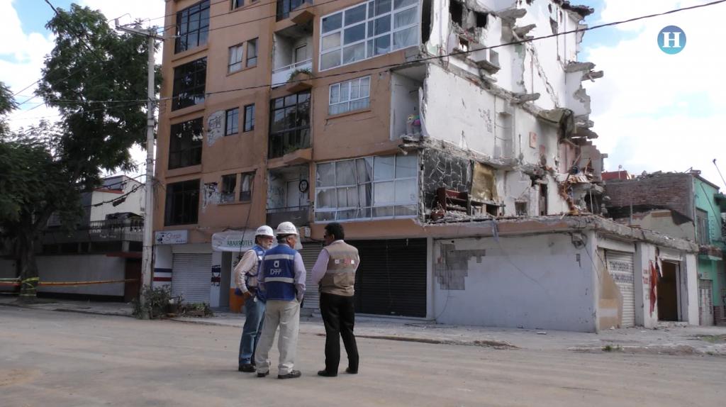 Después del sismo vienen las demoliciones