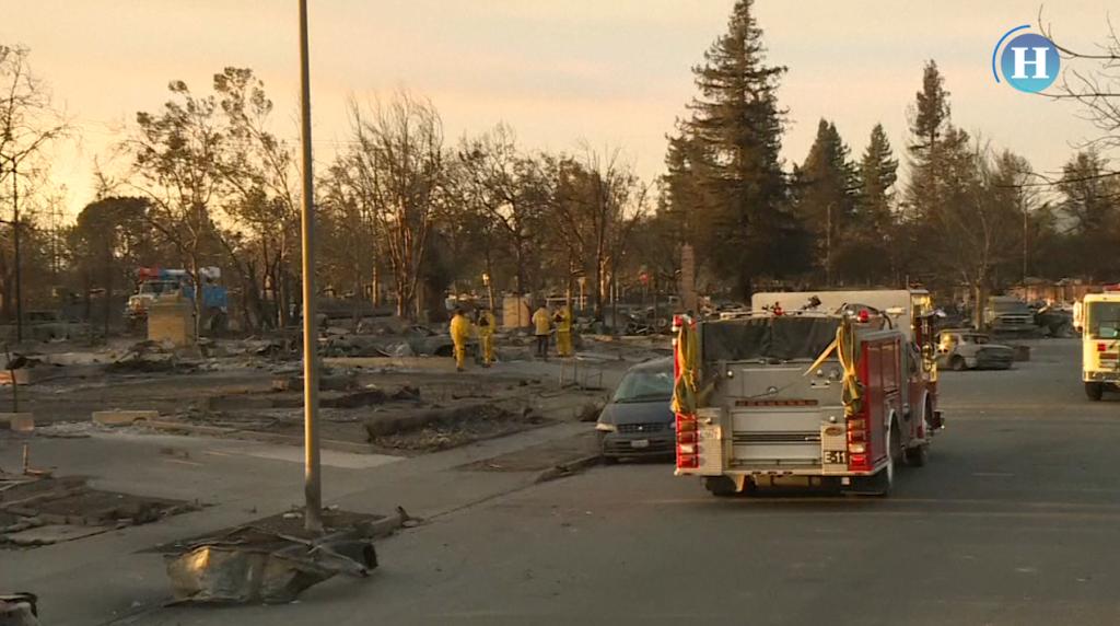 Incendios dejan más de 30 muertos en California