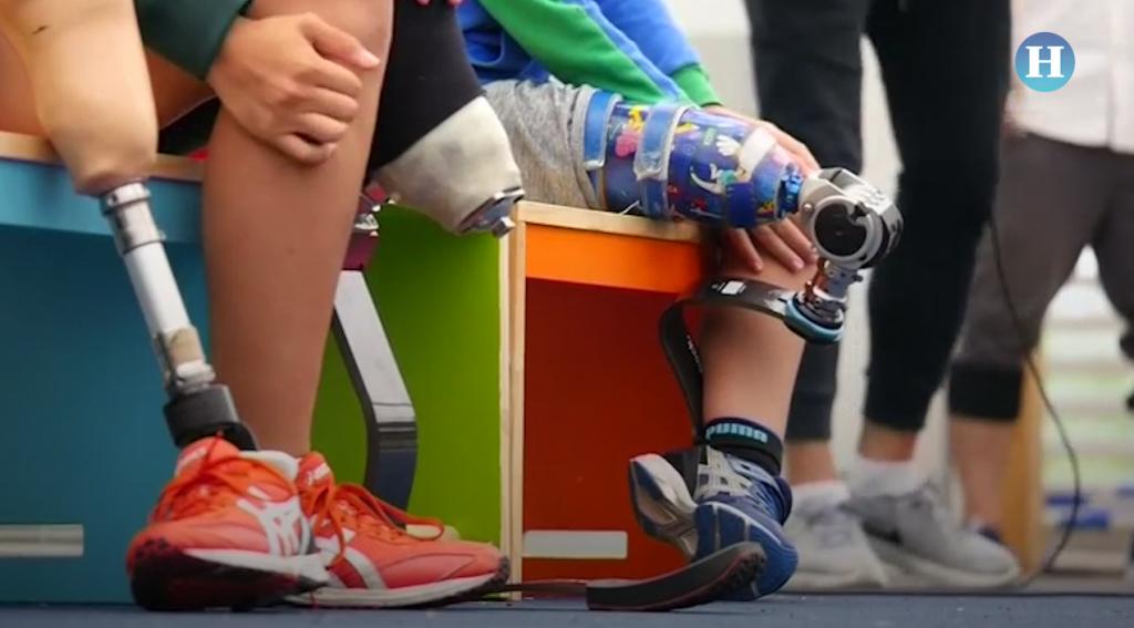 Prótesis para amputados les permiten correr