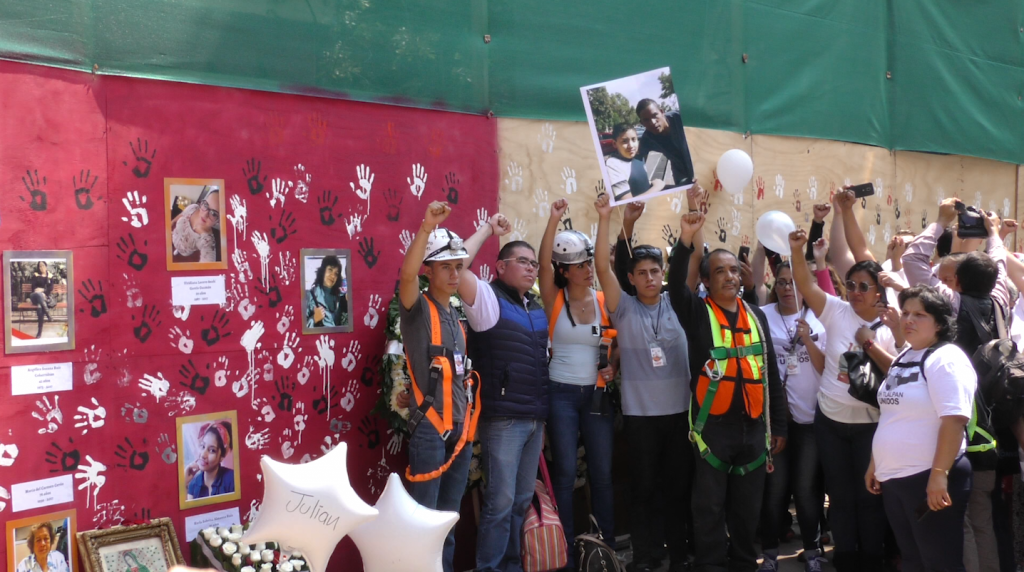 Capitalinos rindieron homenaje a las víctimas del 19-S