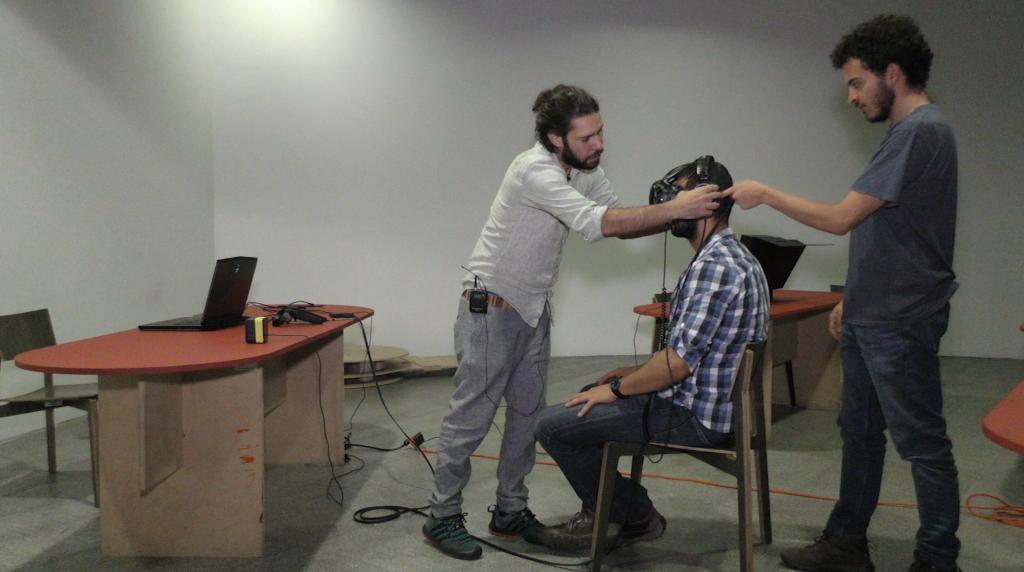 Laboratorio de realidad virtual para experimentar con los sentidos
