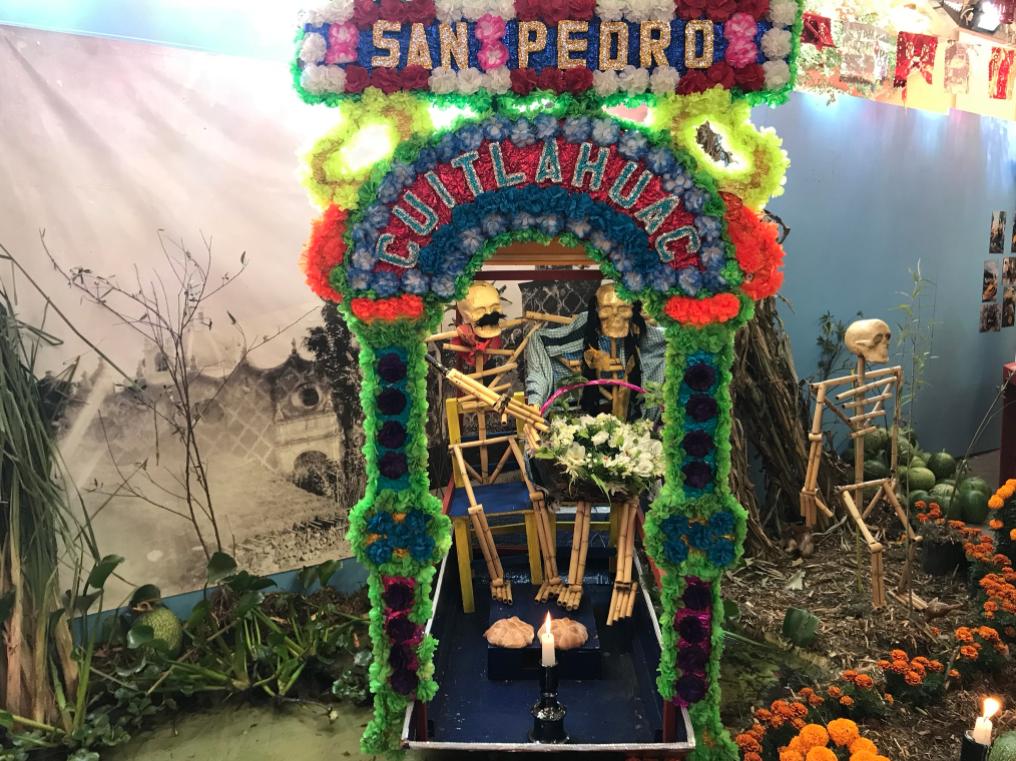 Altares y ofrendas en el Museo Nacional de Culturas Populares