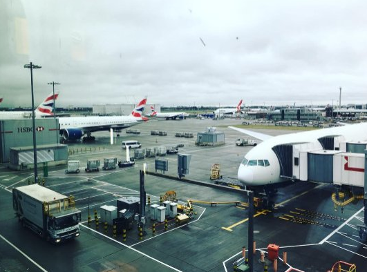 Foto @Heathrowairport