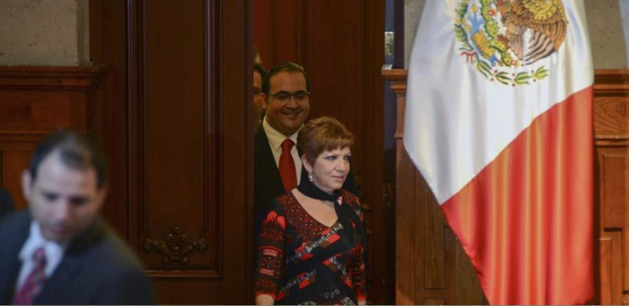 Niegan amparo a Gina Domínguez, ex vocera de Javier Duarte