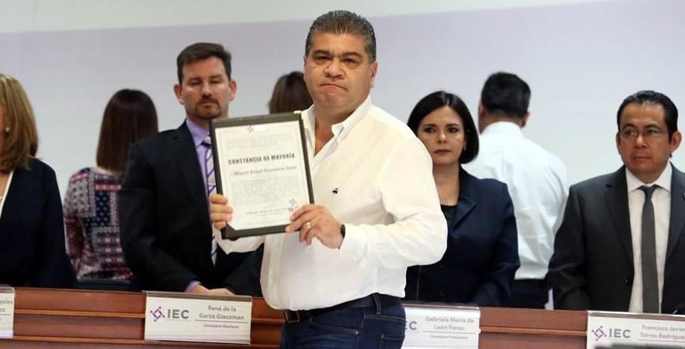 PRI se confronta con el INE por nuevo rebase de Riquelme; impugnará