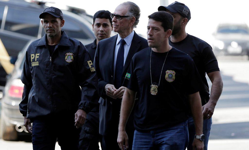 FOTO REUTERS. Carlos Nuzman fue detenido la tarde del jueves.