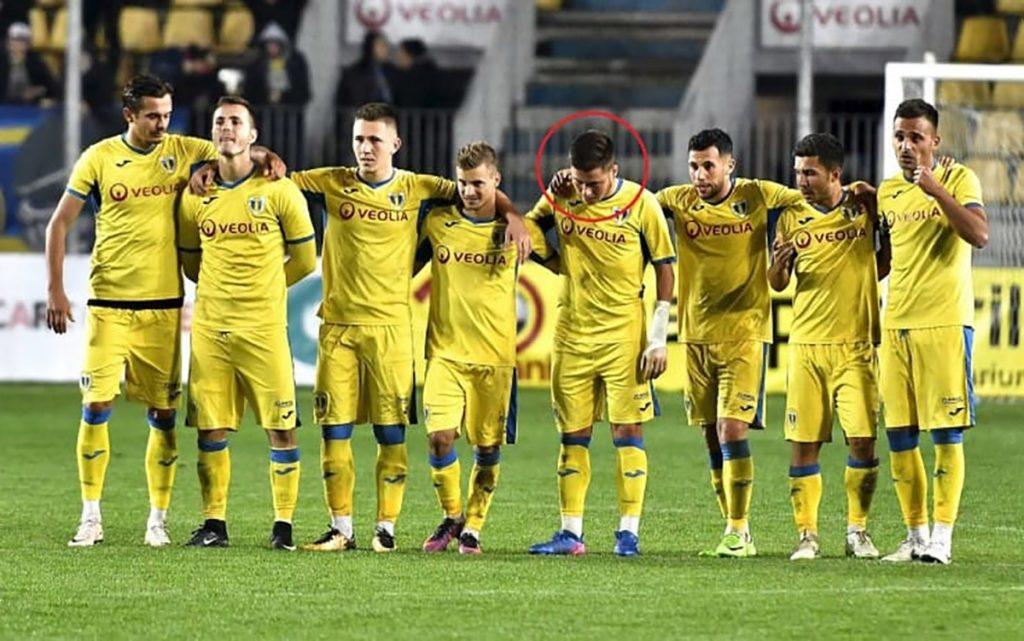 El joven Cosmin Lambru, que perdió la mano izquierda en un accidente, cumplió su sueño de debutar profesionalmente en la primera división rumana