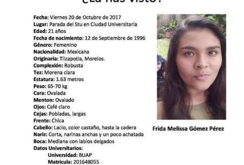 Localizan a estudiante reportada como desparecida en Puebla