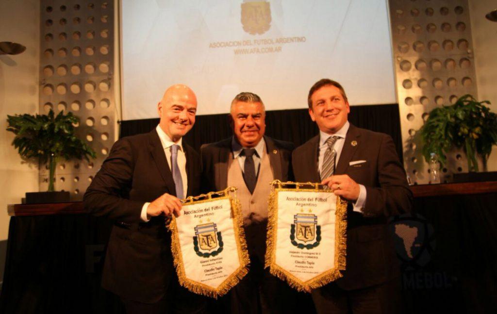El presidente de la FIFA, Gianni Infantino, dijo en Buenos Aires que gracias a Argentina el futbol es lo que es por lo que ha contribuido a la leyenda y al mito del balompié.